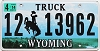 2014 Wyoming Truck # 13962, Lincoln County