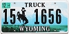 2014 Wyoming Truck # 1656, Hot Springs County