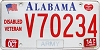 2014 Alabama Army Disabled Veteran graphic # V70234
