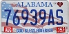 2014 Alabama God Bless America # 76939AS