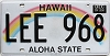2014 Hawaii Rainbow # LEE-968