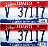 2014 Idaho Scenic graphic pair # 37117, Valley County