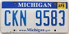 2014 Michigan graphic # CKN-9583