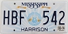 2014 Mississippi Guitar graphic # HBF-542