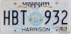 2014 Mississippi Guitar graphic # HBT-932