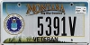 2014 Montana Air Force Veteran graphic # 5391V