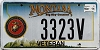 2014 Montana Navy Veteran graphic # 3323V