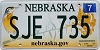 2014 Nebraska graphic # SJE-735