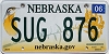 2014 Nebraska graphic # SUG-876