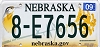 2014 Nebraska graphic # 8-E7656, Hall County