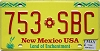 2014 New Mexico # 753-SBC