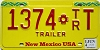 2014 New Mexico Trailer # 1374 T