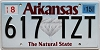 2015 Arkansas Diamond graphic # 617-TZT