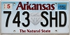 2015 Arkansas Diamond graphic # 743-SHD