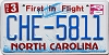 2015 North Carolina First In Flight # CHE-5811