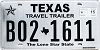 2015 Texas Travel Trailer #B02-1611