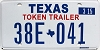 2015 Texas Token Trailer # 38E-041
