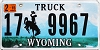 2015 Wyoming Truck # 9967, Campbell County