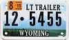 2015 Wyoming Light Trailer # 5455, Lincoln County