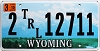 2015 Wyoming Trailer # 12711, Laramie County