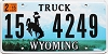 2015 Wyoming Truck # 4249, Hot Springs County