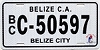 2015 Belize City Belize Central America # C-50597