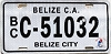 2015 Belize City Belize Central America # C-51032