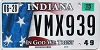 2015 Indiana In God We Trust graphic # VMX939