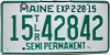 2015 Maine Permanent Semi Trailer # 15-42842