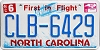 2015 North Carolina First In Flight # CLB-6429