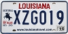 2016 Louisiana Battle of New Orleans Bicentennial # XZG019