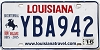 2016 Louisiana Battle of New Orleans Bicentennial # YBA942