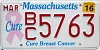 2016 Massachusetts Cure Breast Cancer graphic # BC5763