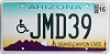 2016 Arizona disabled graphic # JMD39