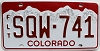 2016 Colorado Fleet graphic # SQW-741