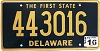 2016 Delaware First State # 443016