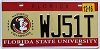 2016 Florida State University graphic # WJ51T