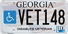 2016 Georgia Disabled Veteran # VET148