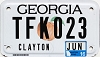 2016 Georgia Motorcycle # TFK023