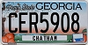 2016 Georgia Peach graphic # CER5908