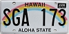 2016 Hawaii Rainbow # SGA-173