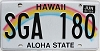 2016 Hawaii Rainbow # SGA-180