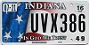 2016 Indiana In God We Trust graphic # UVX386