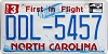 2016 North Carolina First In Flight # DDL-5457