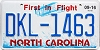 2016 North Carolina First In Flight # DKL-1463