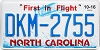 2016 North Carolina First In Flight # DKM-2755