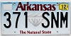 2017 Arkansas Diamond graphic # 371-SNM