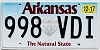 2017 Arkansas Diamond graphic #998-VDI