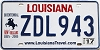 2017 Louisiana Battle of New Orleans Bicentennial # ZDL943