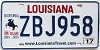 2017 Louisiana Battle of New Orleans Bicentennial # ZBJ958